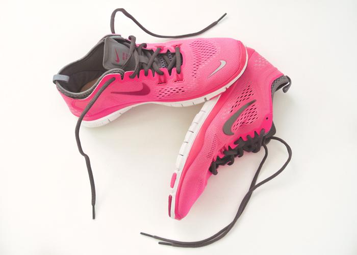 hot sale online 4c661 98947 Moje buty to Nike Free 5.0 TR Fit 4, są bardzo wygodne. Świetne na fitness,  bieganie na bieżni, czy ćwiczenia z ciężarami. Poprzednie buty które miała  to ...