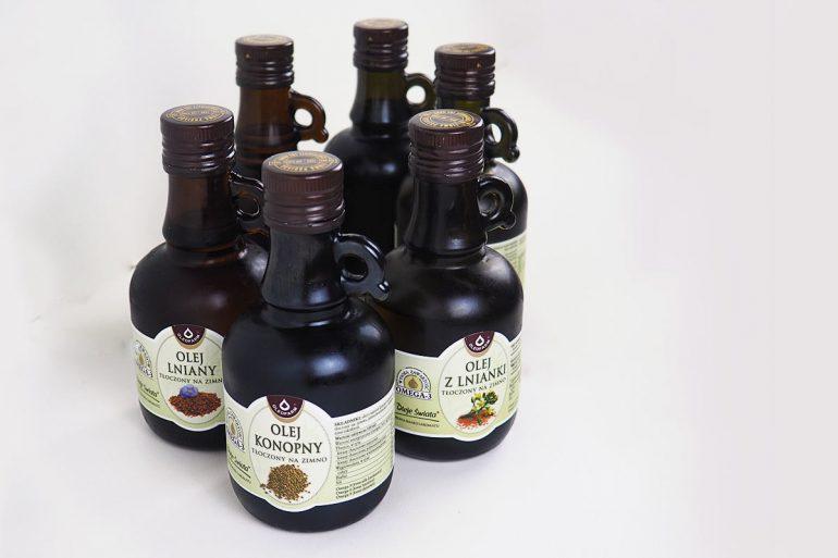 zdrowe oleje roślinne